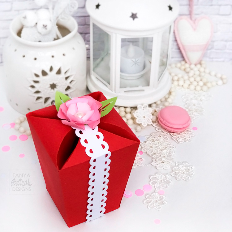 DIY Gift Box for Valentine s Day