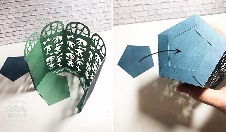 DIY Paper Halloween Lanterns
