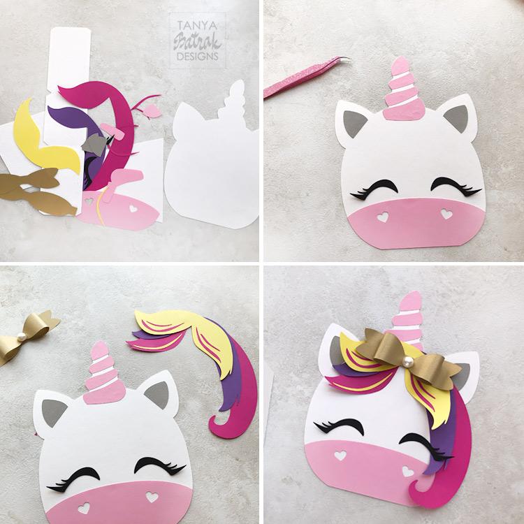 Easy Paper Unicorn Box