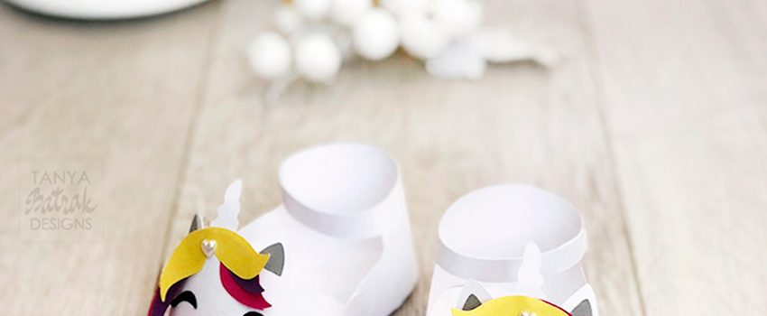 Unicorn Party Decoration – Unicorn Baby Shoes
