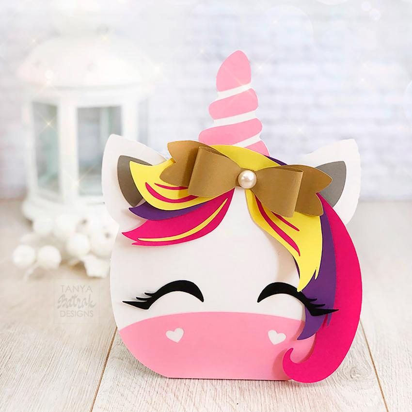 Party Decoration Unicorn Treat Box