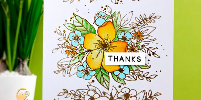 Thanks card | Playdate Monday with Concord & 9th
