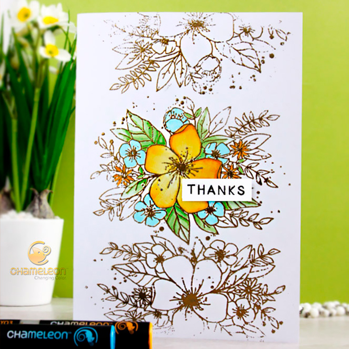 Thanks card Playdate Monday with Concord th