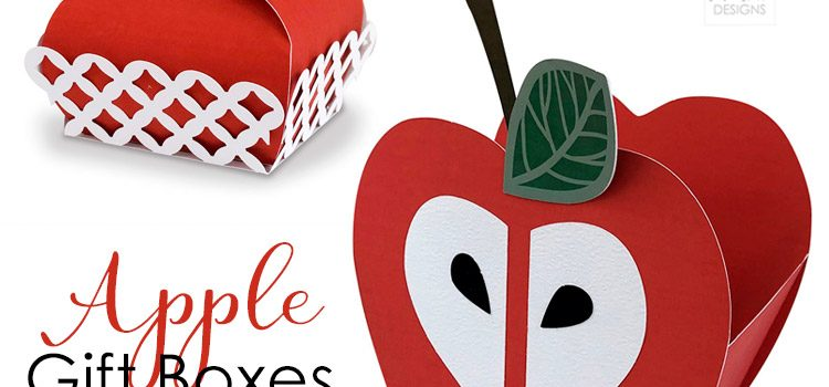 Apple Gift Box Cut File
