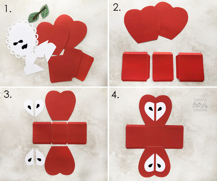Apple Gift Box Cut File
