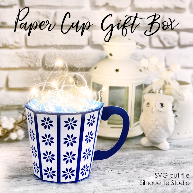 Christmas Paper Cup Gift Box