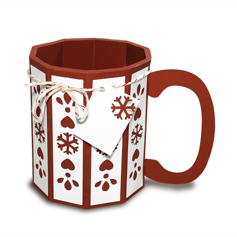 Christmas Paper Mug Gift Box