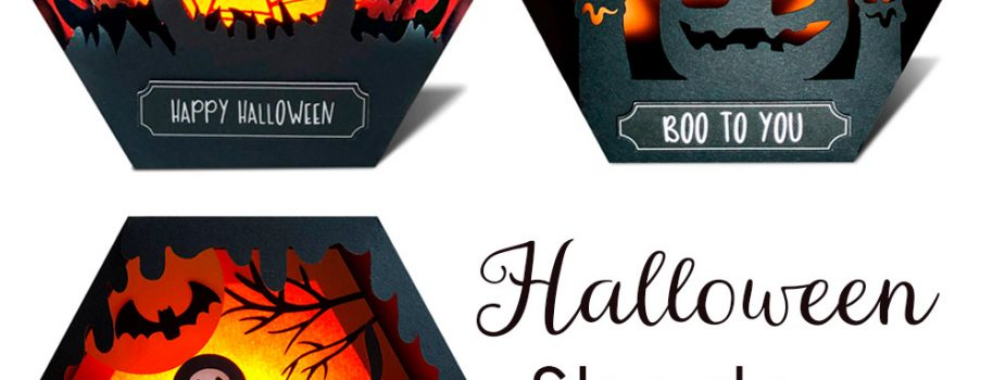 DIY Spooky Halloween Shadow Boxes