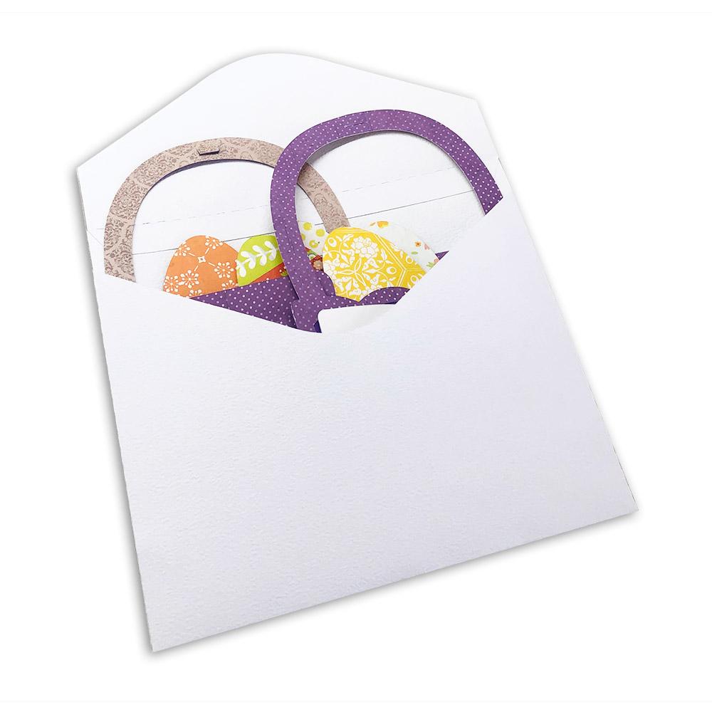 Easter Basket Box Card