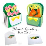 Flower Garden Box Card