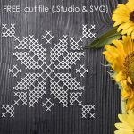 Free Cross Stitch Cut File