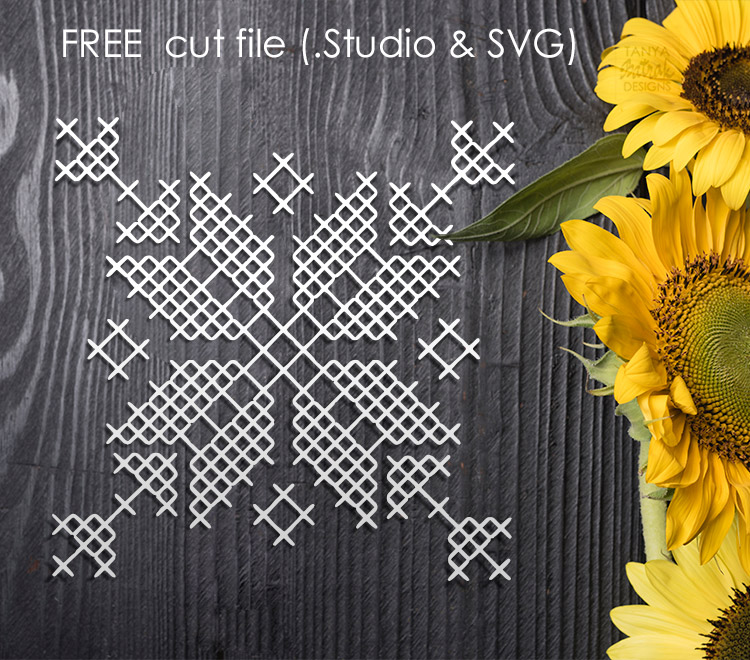 Free Cross Stitch Cut File