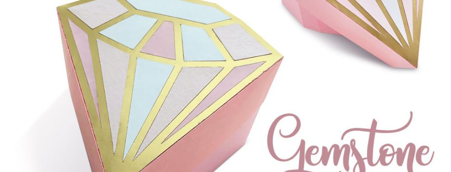 Paper Gemstone Gift Box