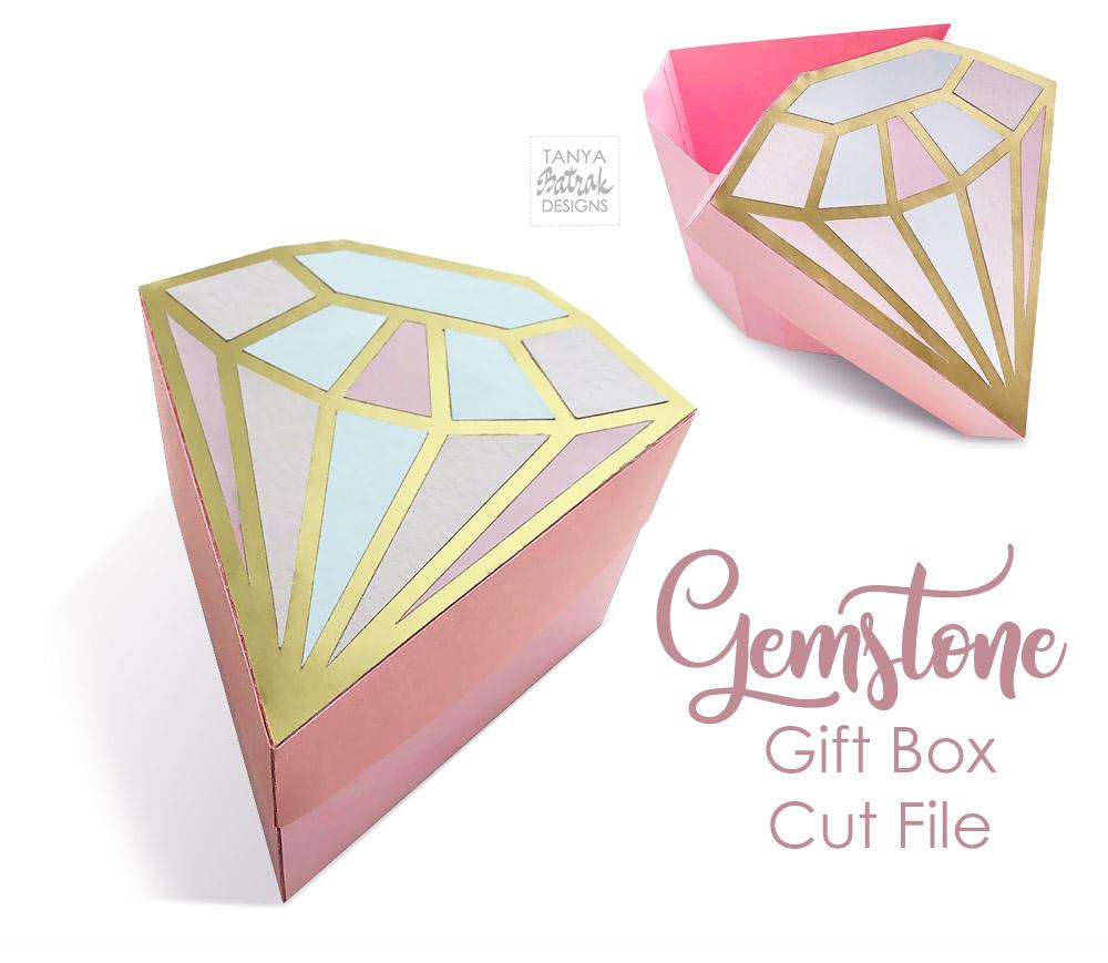 Paper Gemstone Gift Box