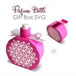 Perfume Bottle Gift Box SVG