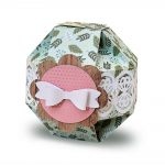 Spherical Gift Box with Lace