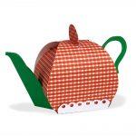 Teapot Gift Box Cut File