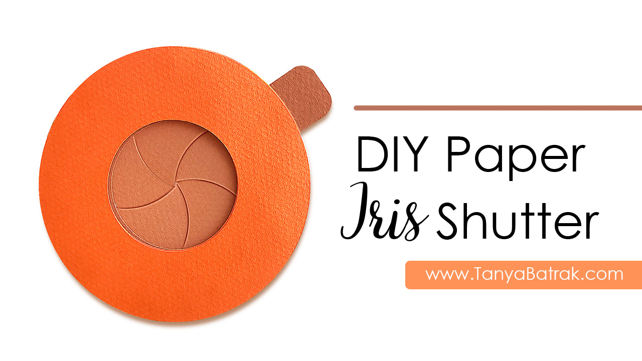 Paper Iris Shutter for Cards Layouts Scrapbooks and more