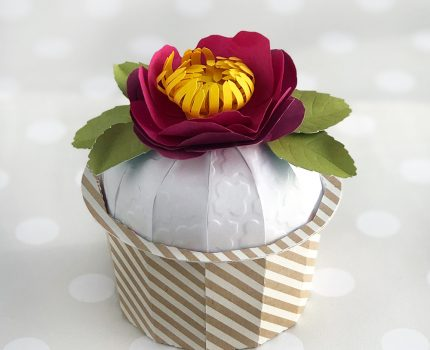Cupcake Gift Box Cut File