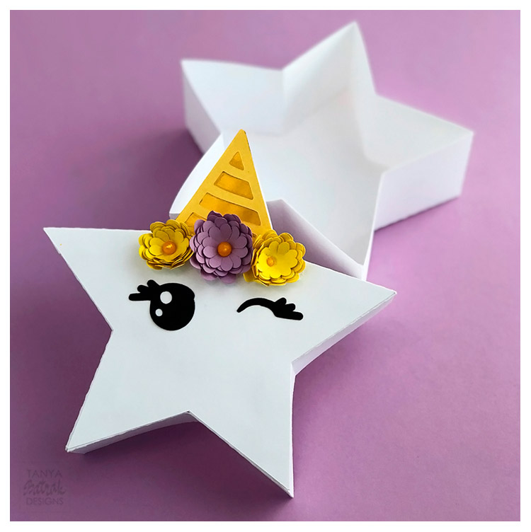 Cute Unicorn Star Gift Box