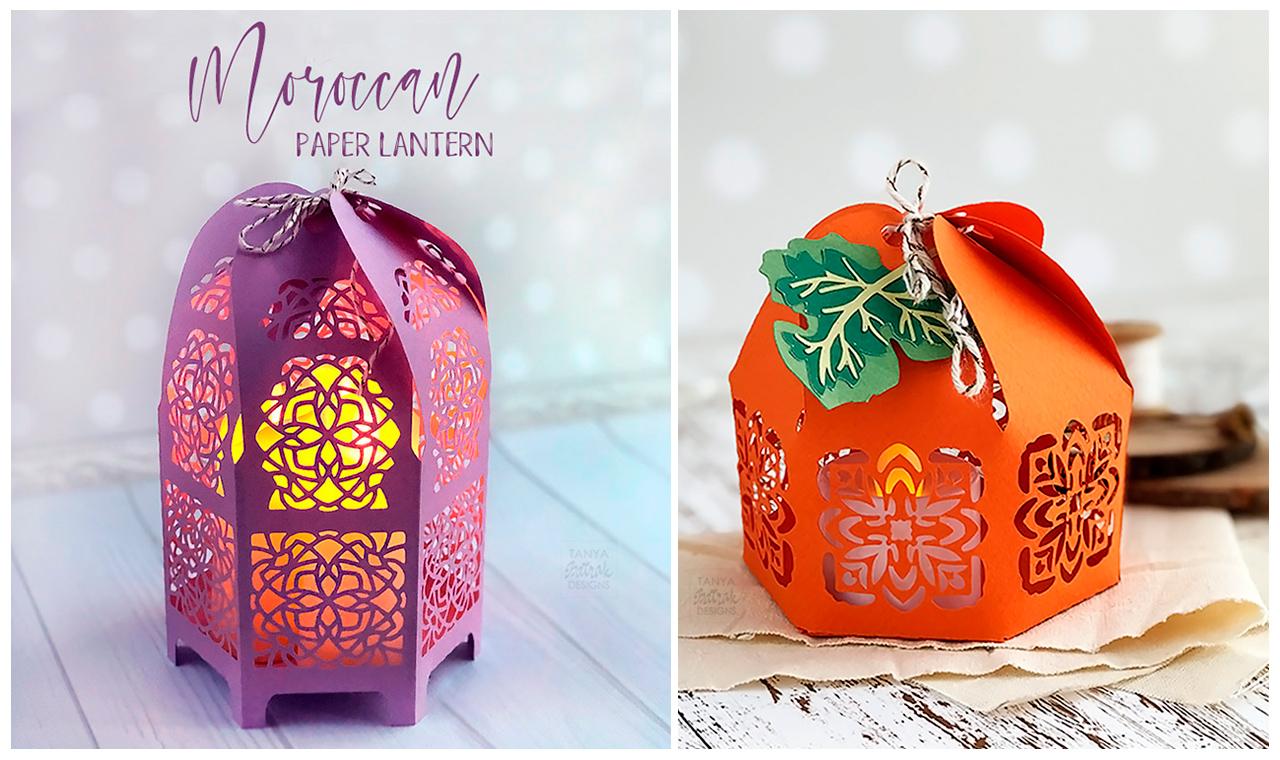 DIY Moroccan Paper Lantern