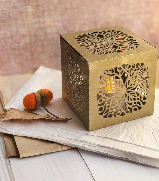 Free SVG Autumn Box Cut File