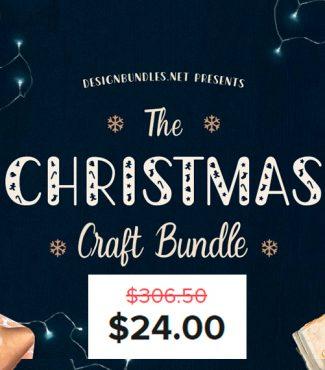The Christmas Craft Bundle SVG