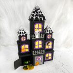 DIY Halloween Countdown Calendar - Haunted Mansion