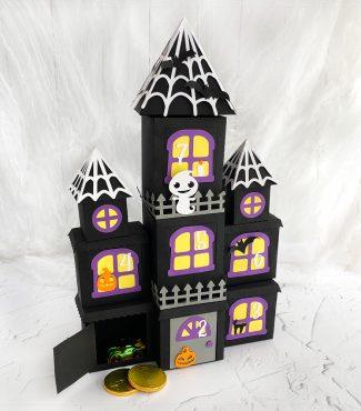 DIY Halloween Countdown Calendar – Haunted Mansion