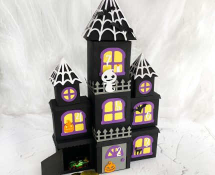 DIY Halloween Countdown Calendar – Haunted Mansion