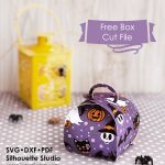 Free Printable Halloween Treat Box