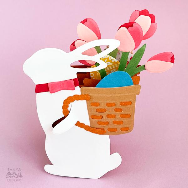 Easter Box Card Cut File
