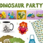 Dinosaur Party Printables and SVGs