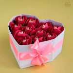DIY Heart Box with Paper Roses